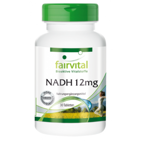 NADH 12mg - 30 Tabletten