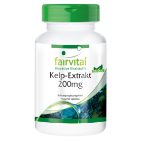 Kelp-Extrakt 200mg - 250 Tabletten