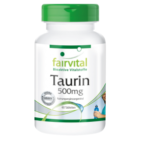 Taurin 500mg - 60 Tabletten