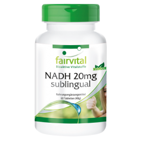 NADH 20mg sublingual - 60 Tabletten
