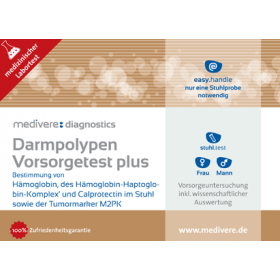 Darmpolypen Vorsorgetest plus